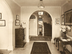 the lobby in 1920