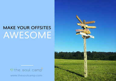 corporate glamping brochure