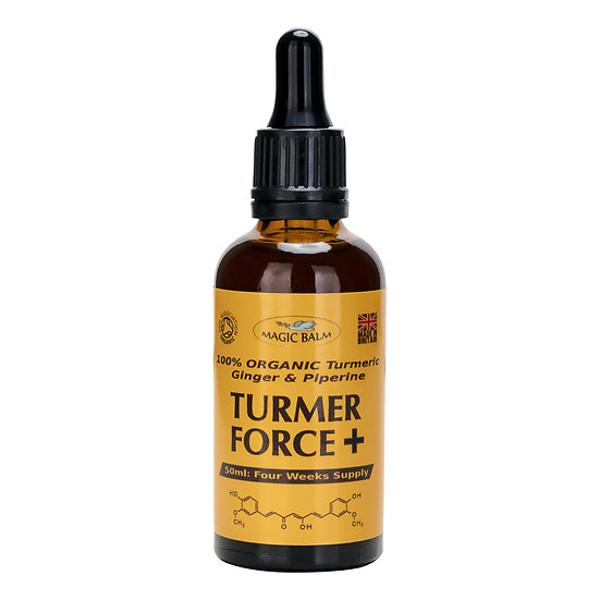 Turmer Force Plus Organic Liquid Turmeric Extract With Ginger And Piperine