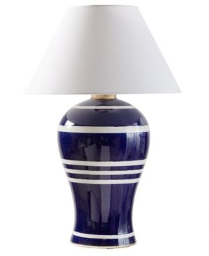Admiralty Deep Blue Lamp