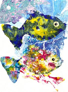 ''Sadumi'' 35x45 cm. Original acrylic painting on canvas.