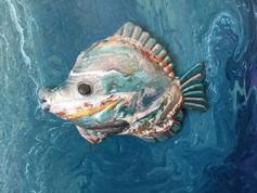 """""""Toro"""" Original art, acrylic on canvas 30x40cm."""