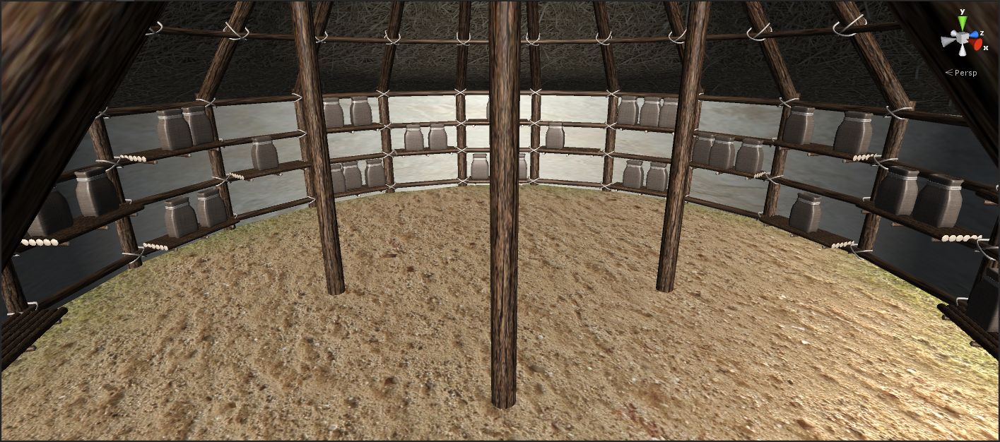 Interior - Crop Storage