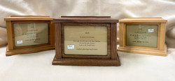 Solid Wood Urns