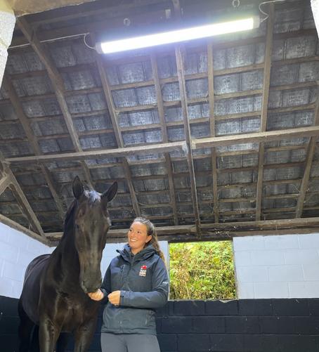 Carl Hester MBE Installs HorseLight