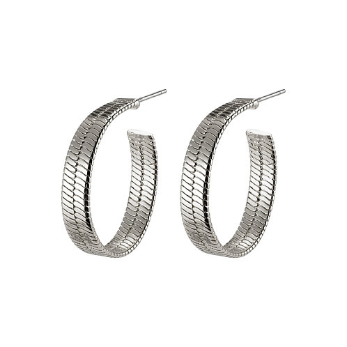 Pilgrim Earrings -  Noreen - Silver Plated