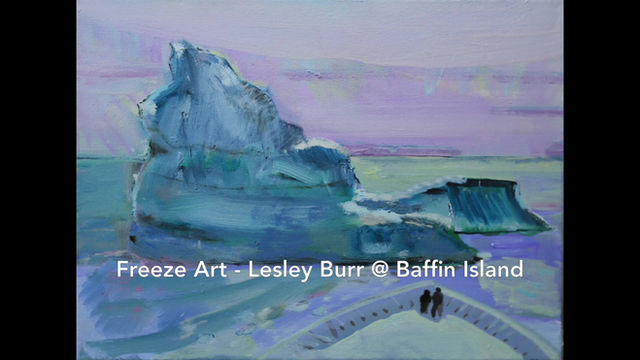 Freeze Art Slideshow