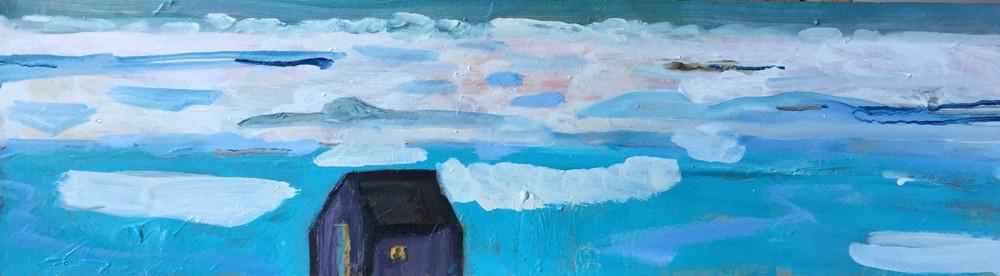 Icefield, Oil, 20cm x 76cm, 2019.jpg
