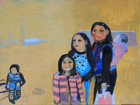 Inuit family