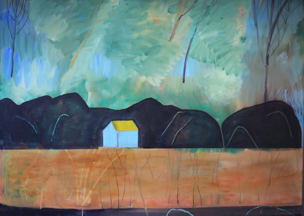 Deep Loch Fyne, Oil, 91cm x 122cm, 2019.