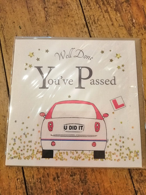 """""""Well Done, You've Passed"""" Card"""