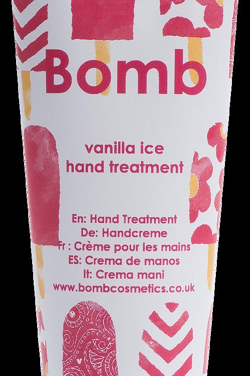 Vanilla Ice Hand Treatment