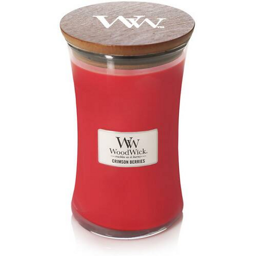 WoodWick Large Crimson Berries Candle