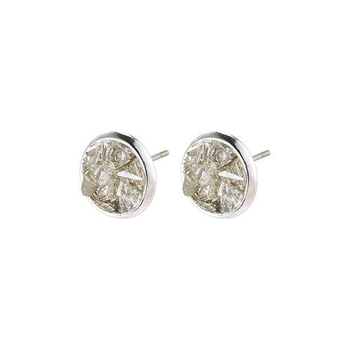Pilgrim Earrings - Josefine - Silver Plated
