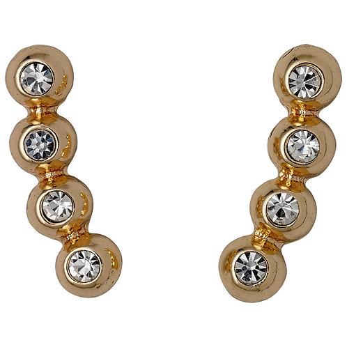 Pilgrim Earrings - Isolde - Rose Gold Plated