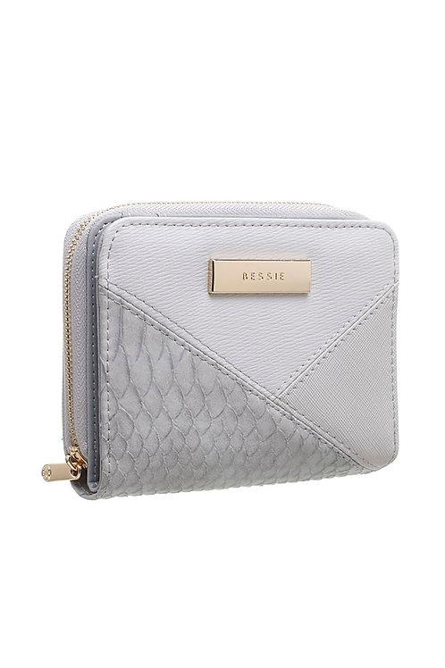 Bessie Small Croc Colour Patchwork Wallet