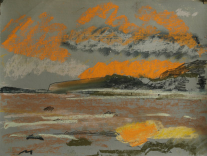 Orange Clouds Achnamara