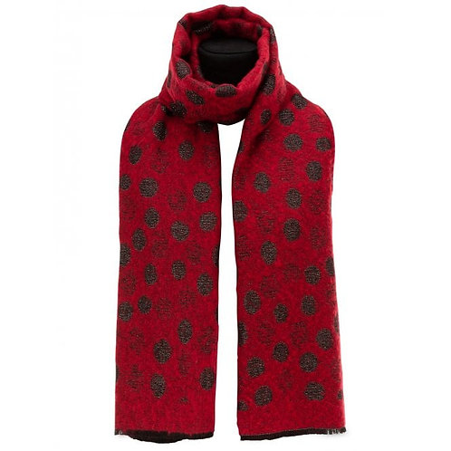 Spotty Knitted Scarf
