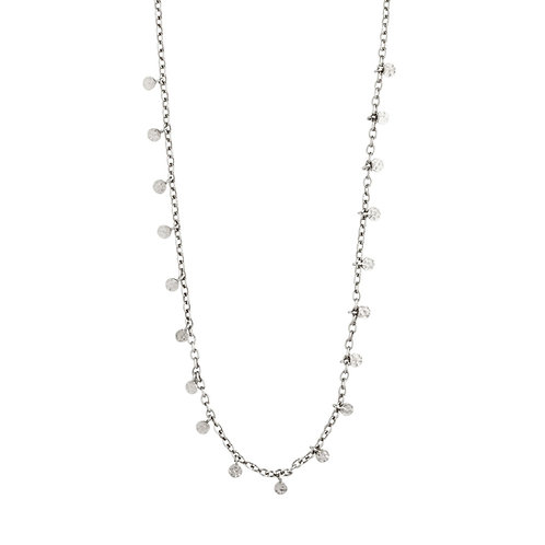 Pilgrim Necklace -Panna - Silver Plated