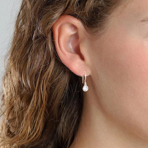 Pilgrim Earrings -  Lucia - Rose Gold Plated