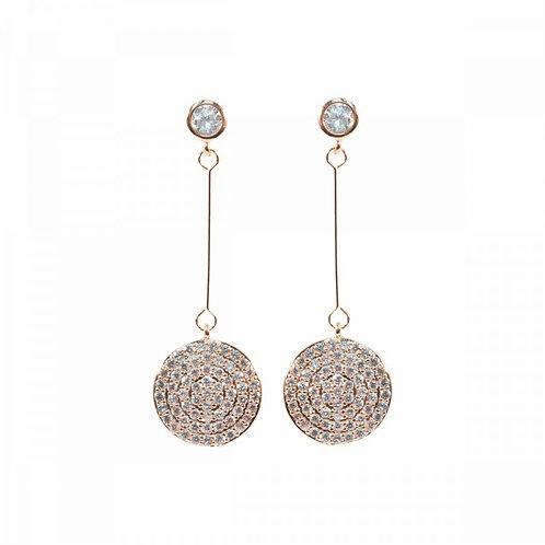Sparkly Drop Diamante Earrings