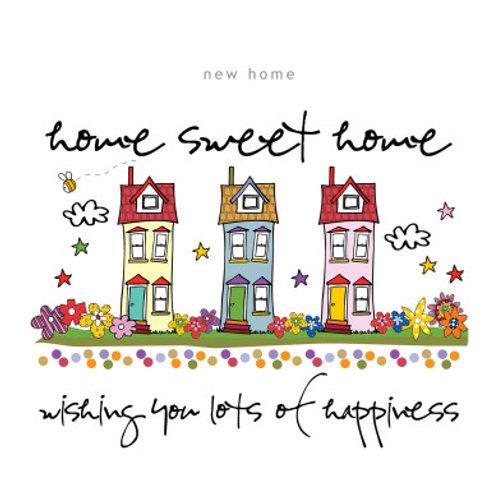 """Home Sweet Home"" Card"