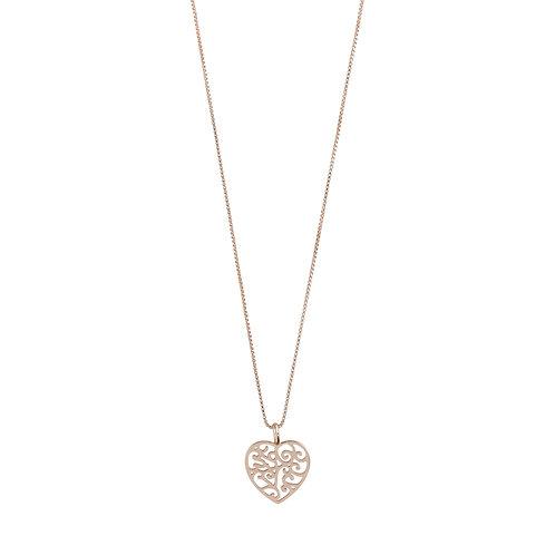 Pilgrim Necklace - Felice - Rose Gold Plated