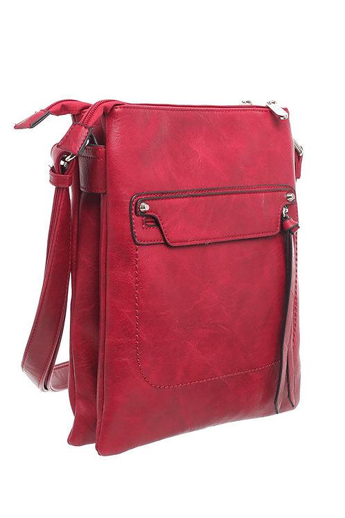 Classic Bessie Zipper Crossbody Bag