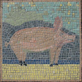 Habitation Pig Mosaic