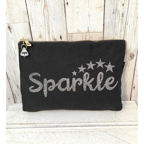 """Bespoke """"Sparkle"""" Make Up Bag"""