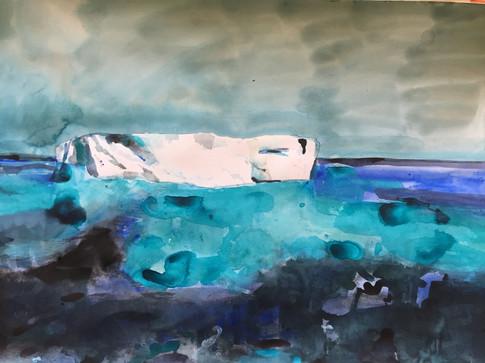 True Blue Iceberg