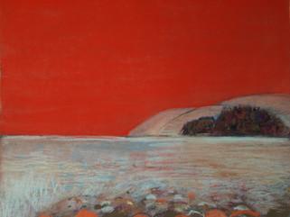 Red Sky Landscape