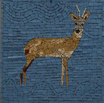 Roe Deer Mosaic
