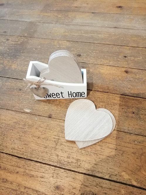 Sweet Home Coasters - Set of 4