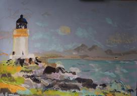 Port Charlotte light, Pastel, 50x70cm. p