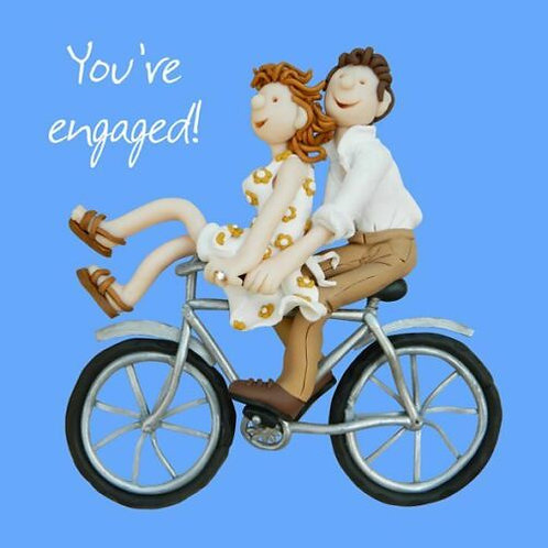 """""""Your Engaged!"""" Card"""
