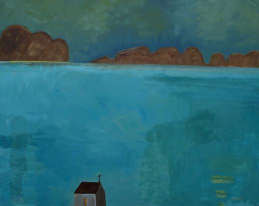 Luminous Place - danna isle, Oil, 120x15
