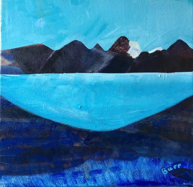 Swiss Glacier Lake