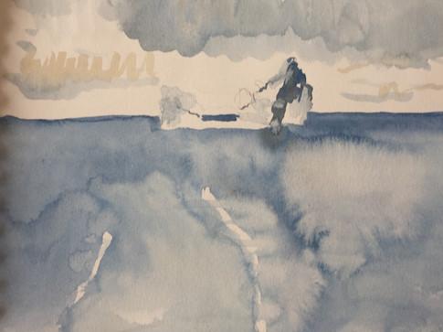 Iceberg Study Baffin Sea