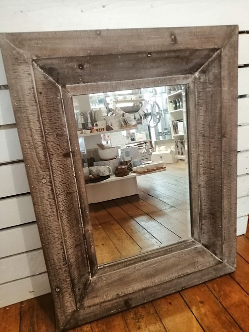 Reclaimed Wooden Wall Mirror