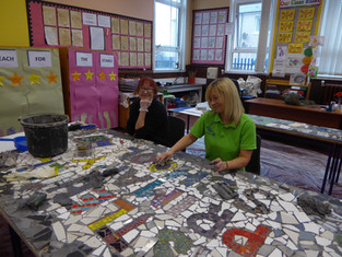 Castlehill Primary Mosaic