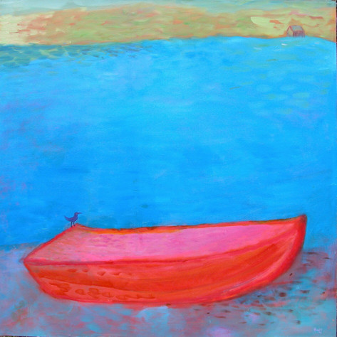 Silent Red Boat