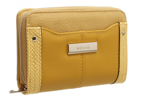Bessie Snake Print Magnetic Flap Snap Purse