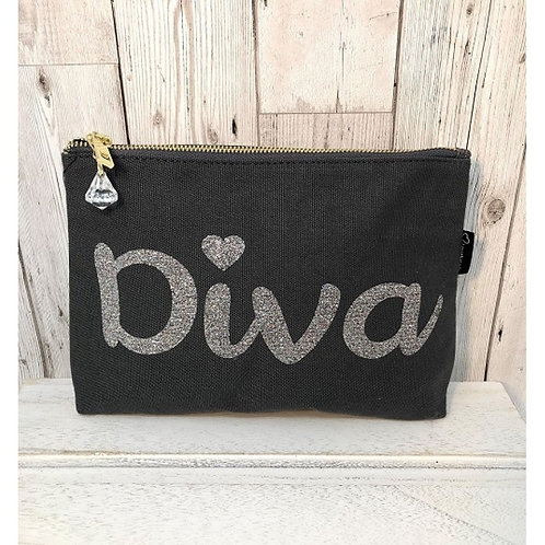 """Bespoke """"Diva"""" Make Up Bag"""