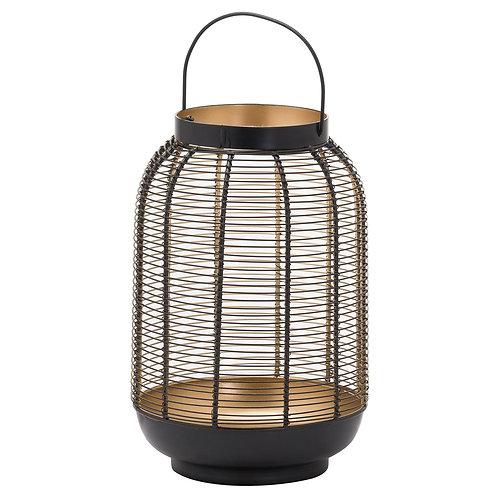 Medium Black Glowray Wire Lantern
