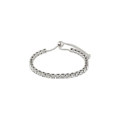 Pilgrim Bracelet - Lucia - Silver Plated - Crystal