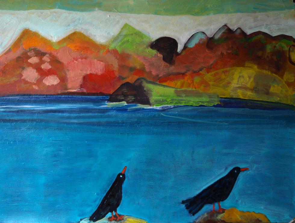 The Birds Landscape 2