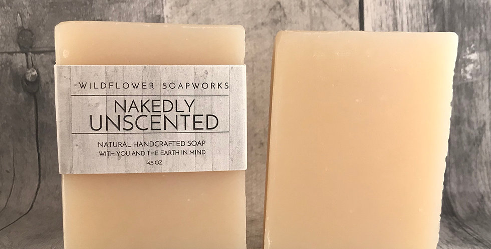 Nakedly Unscented Soap Bar