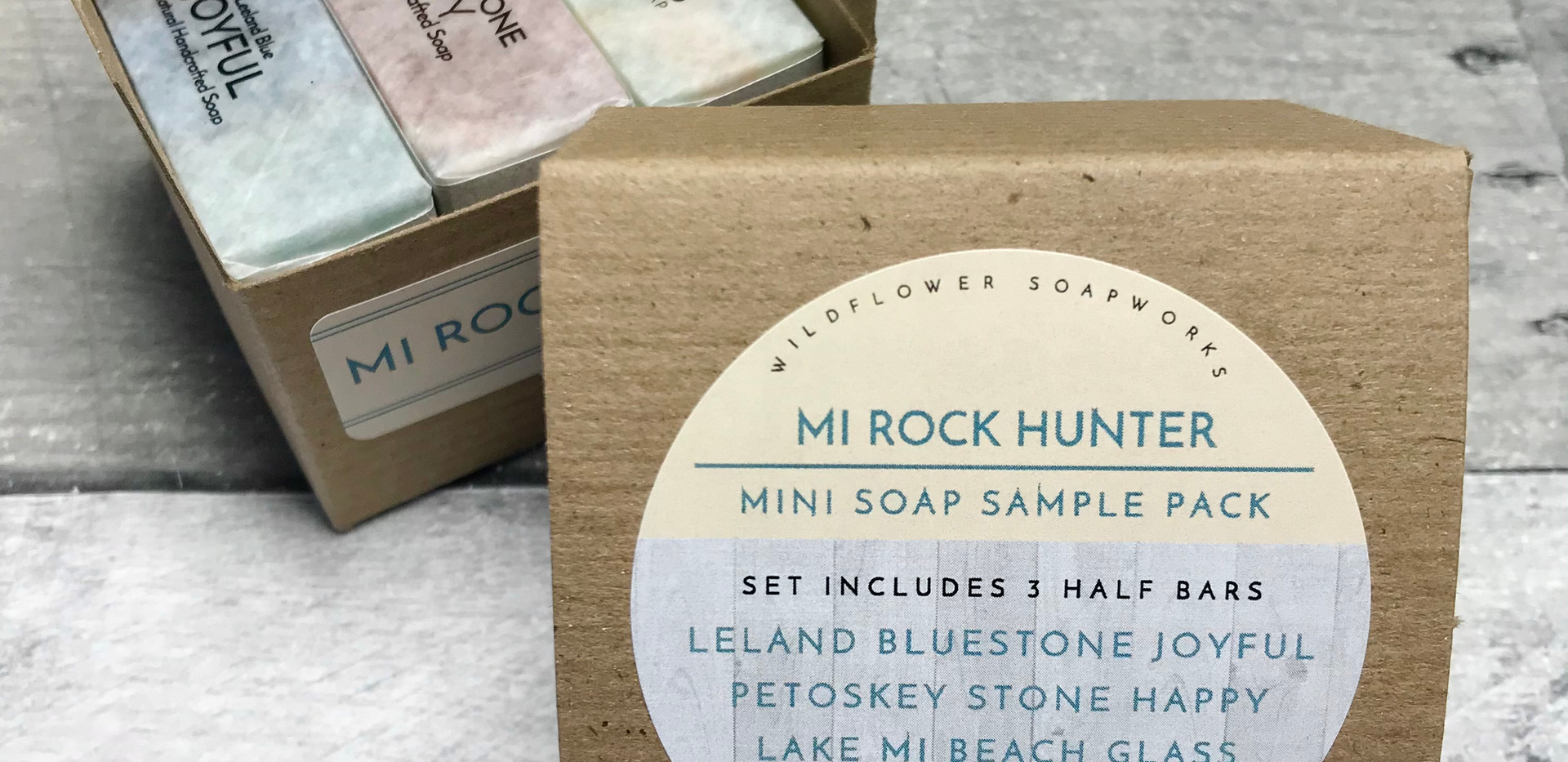 For the rock hunter in your life!