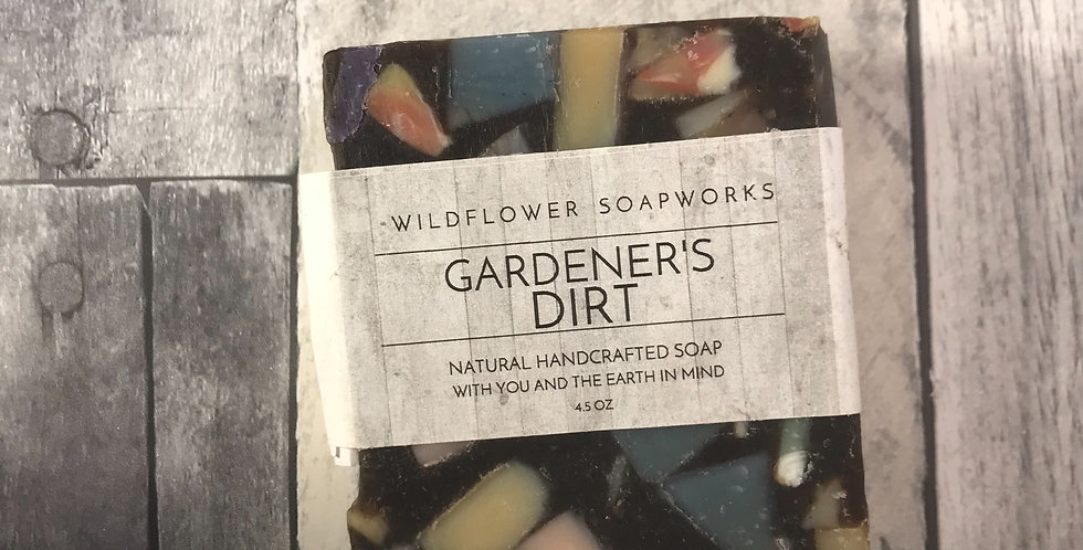 Gardener's Dirt Soap Bar